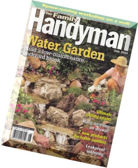 Download the family handyman june 2004 pdf magazine for The family handyman pdf