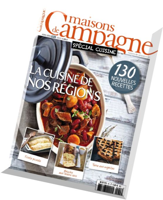 Download maisons de campagne hors serie n 4 special for Hors serie cuisine