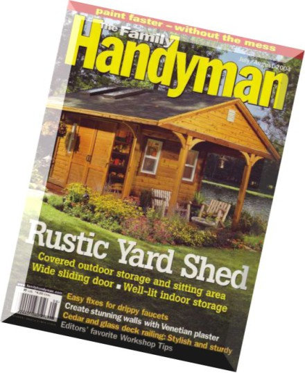 Download the family handyman july august 2004 pdf magazine for The family handyman pdf