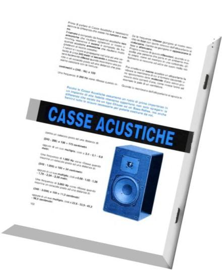Download nuova elettronica casse acustiche per l hi fi pdf magazine - Casse acustiche design ...