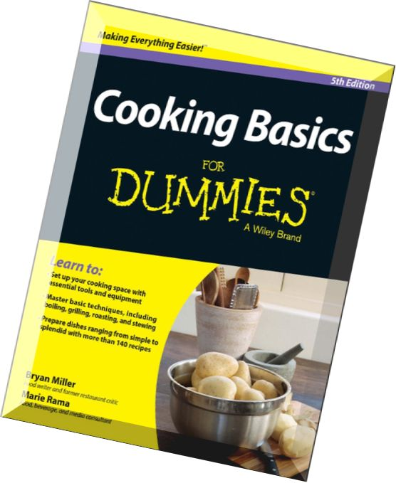 Download cooking basics for dummies 5 edition pdf magazine - Basics of french cuisine ...
