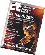 c't magazin 04-2015 (24.01.2015)