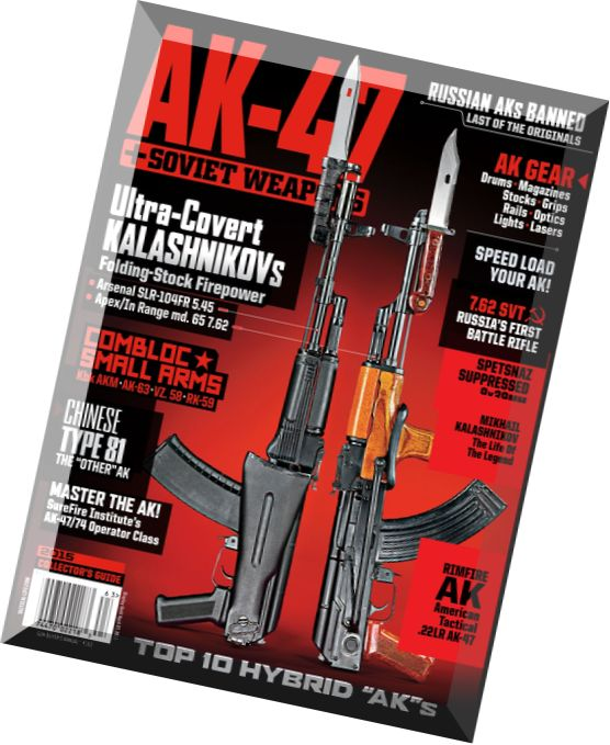 Download The AK-47 & Soviet Weapons 2015 - PDF Magazine