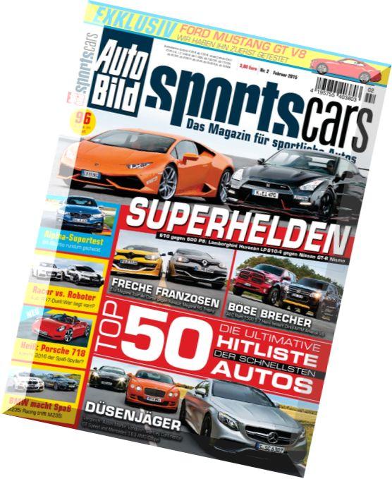 download auto bild sportscars februar n 02 2015 pdf. Black Bedroom Furniture Sets. Home Design Ideas