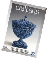 Craft Arts International Magazine Issue 92, 2015