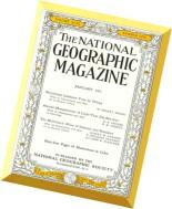 National Geographic Magazine 1951-01, January