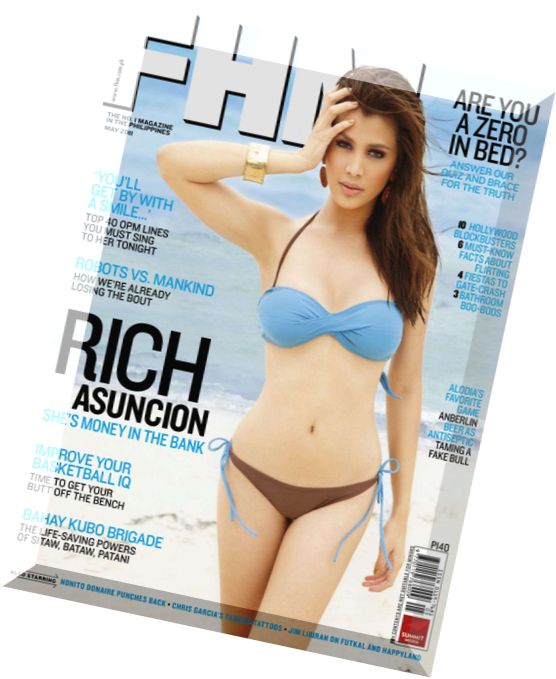 Philippines pdf fhm november