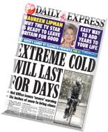 Daily Express - Thursday, 29 January 2015