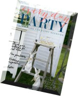 Everyday Party Magazine - Spring 2015