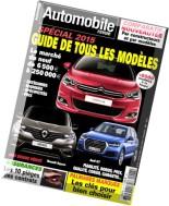 Automobile Revue N 48 - Fevrier-Mars-Avril 2015