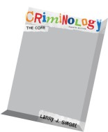 Criminology The Core, 4 edition