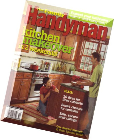 Download the family handyman october 2004 pdf magazine for The family handyman pdf