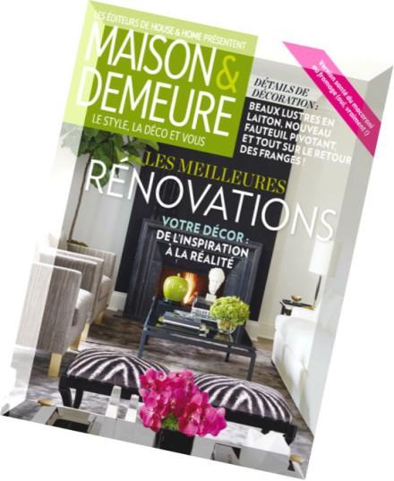 Download maison demeure fevrier 2015 pdf magazine - Maison demeure magazine ...
