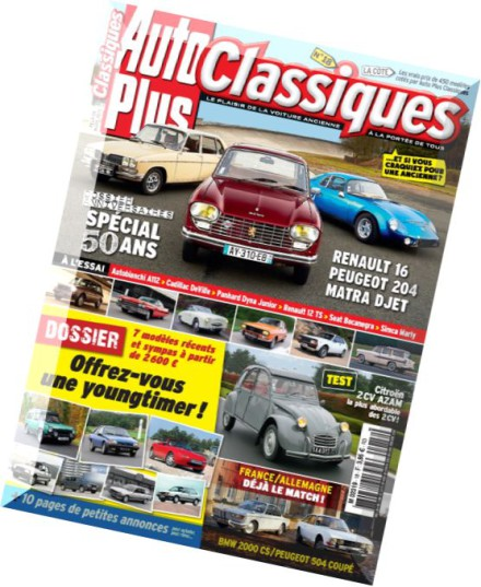 download auto plus classiques n 18 pdf magazine. Black Bedroom Furniture Sets. Home Design Ideas