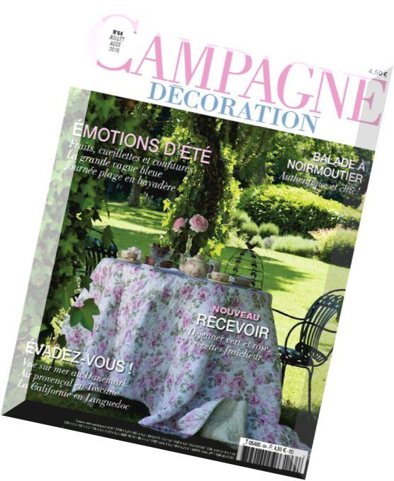 download campagne decoration jullet aout 2009 pdf magazine. Black Bedroom Furniture Sets. Home Design Ideas