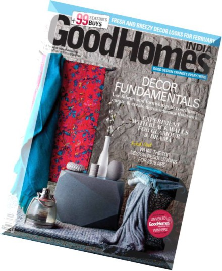 Download Good Homes India February 2015 Pdf Magazine