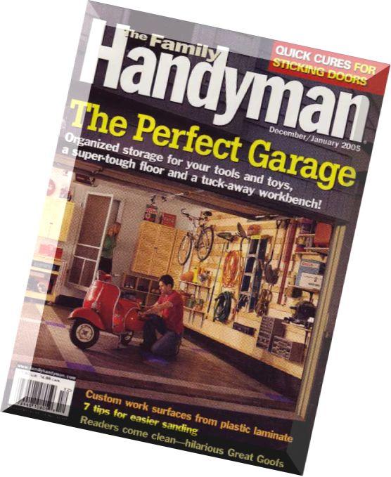 The family handyman magazine pdf free programs for The family handyman pdf