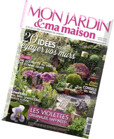 download mon jardin ma maison n 661 fevrier 2015 pdf magazine. Black Bedroom Furniture Sets. Home Design Ideas