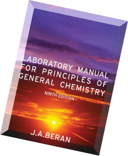 Experiments In General Chemistry Kobrak Lab Manual