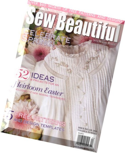Download Sew Beautiful Issue 129 2010 Pdf Magazine