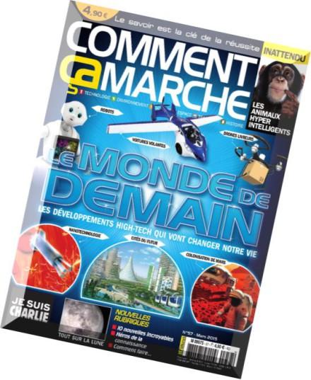 download comment ca marche n 57 mars 2015 pdf magazine. Black Bedroom Furniture Sets. Home Design Ideas