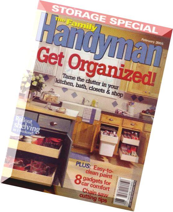 Download the family handyman february 2005 pdf magazine for The family handyman pdf