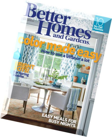Download better homes and gardens usa march 2015 pdf magazine Better homes and gardens march