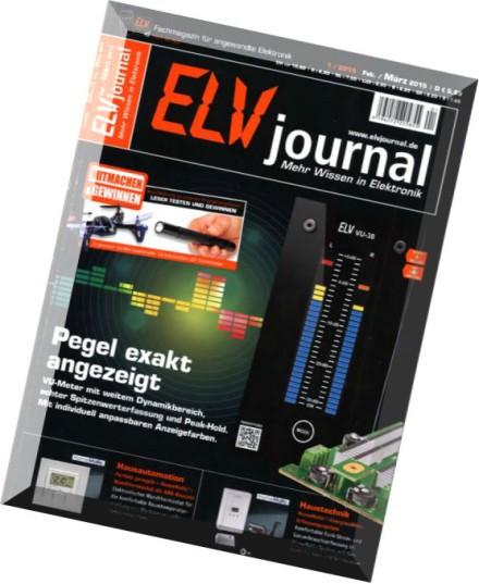 download elv journal fachmagazin elektronik februar marz 01 2015 pdf magazine. Black Bedroom Furniture Sets. Home Design Ideas