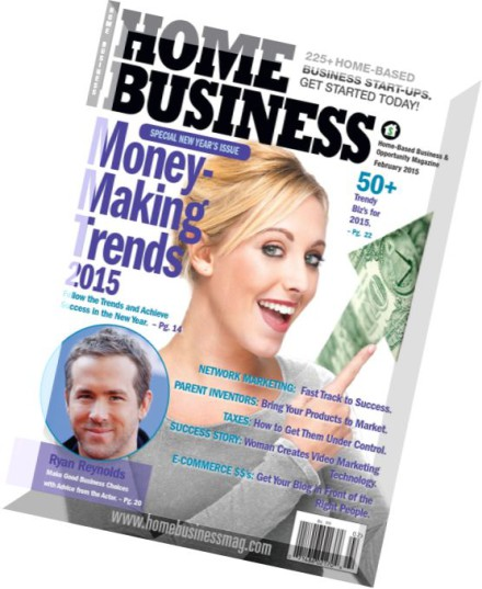 Download Home Business Magazine – February 2015  PDF Magazine