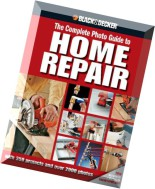 Black - Decker The Complete Photo Guide to Home Repair+OCR