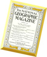 National Geographic Magazine 1952-03, March