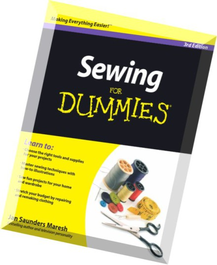sewing for dummies free pdf download