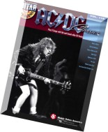 AC DC Classics Guitar Play-Along, Vol. 119 by Hal Leonard Corporation