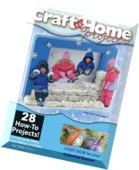 Craft & Home Projects - Winter 2015