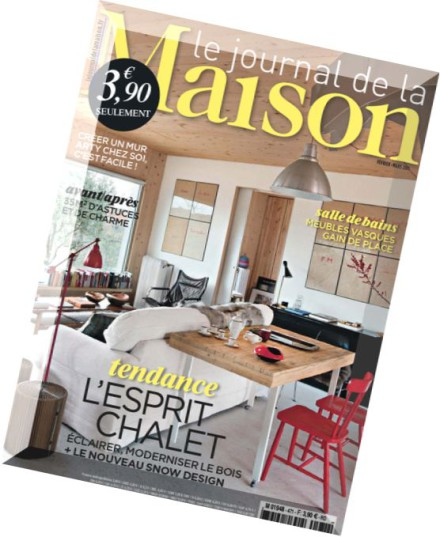download le journal de la maison n 471 fevrier mars 2015 pdf magazine. Black Bedroom Furniture Sets. Home Design Ideas