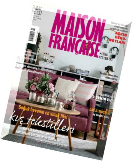 Download maison francaise february 2015 pdf magazine for Magazine maison francaise