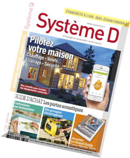 download systeme d n 830 mars 2015 pdf magazine. Black Bedroom Furniture Sets. Home Design Ideas