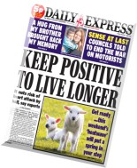 Daily Express - Friday, 6 March 2015