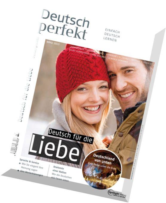download deutsch perfekt 2015 n 03 marz und plus pdf magazine. Black Bedroom Furniture Sets. Home Design Ideas