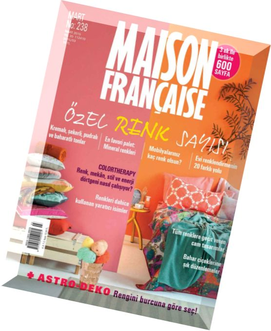 Download maison francaise march 2015 pdf magazine for Magazine maison francaise