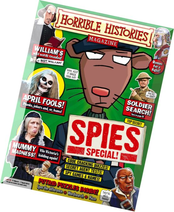 Horrible history magazine download