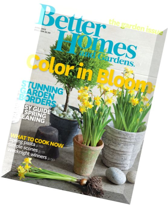 Download Better Homes And Gardens Usa April 2015 Pdf