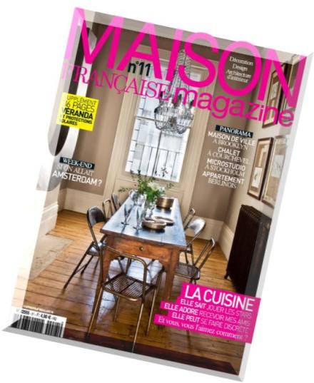 download maison francaise magazine n 11 mars 2015 pdf. Black Bedroom Furniture Sets. Home Design Ideas