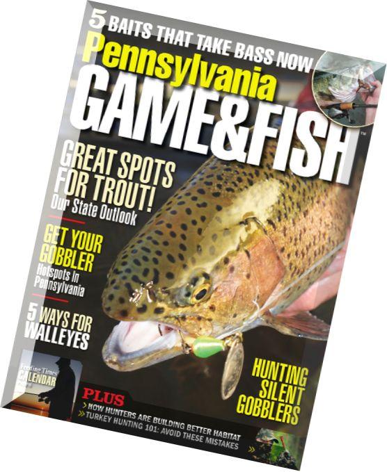 Download pennsylvania game fish april 2015 pdf magazine for Pa game and fish