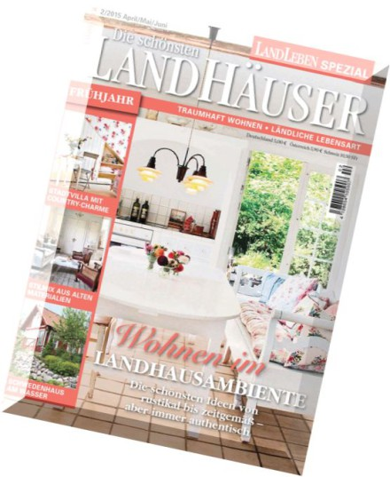 download landleben spezial die schoensten landhaeuser. Black Bedroom Furniture Sets. Home Design Ideas