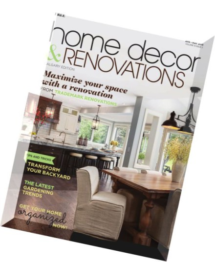 Http Pdfmagaz In 02210901 Calgary Home Decor Renovations April May 2015
