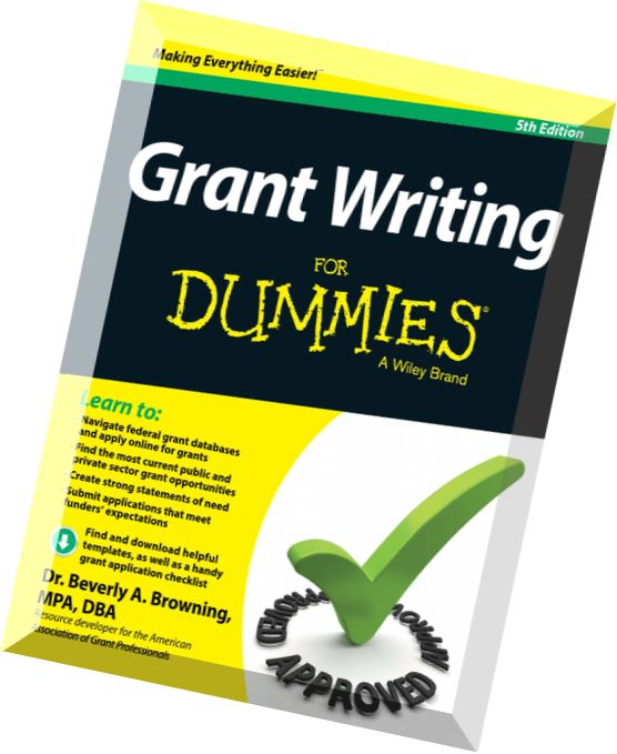 Download grant writing for dummies th edition pdf magazine