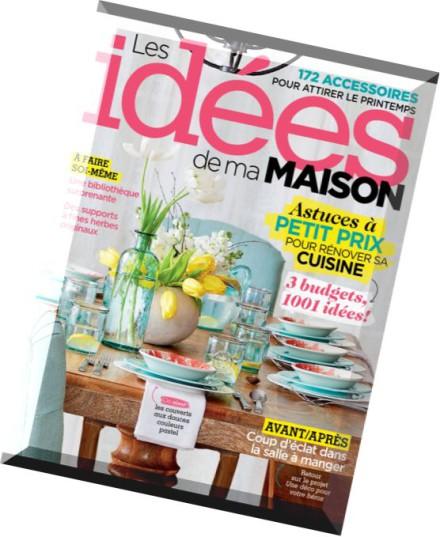 Download les idees de ma maison avril 2015 pdf magazine for Maison idees magazine