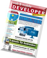 web & mobile DEVELOPER 04-2013