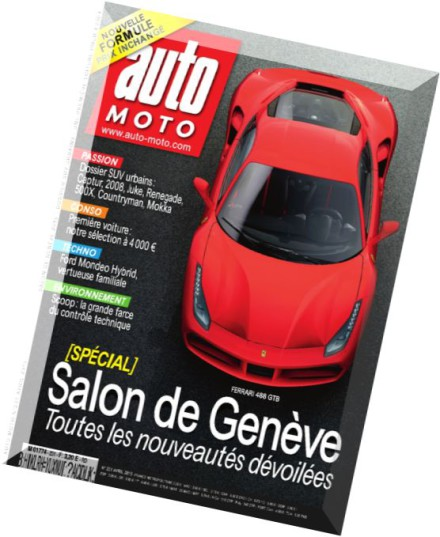 download auto moto n 231 avril 2015 pdf magazine. Black Bedroom Furniture Sets. Home Design Ideas